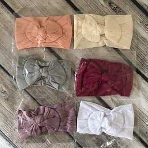 Brand New Set of 6 Baby Toddler Girl Headbands